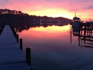 Jax Creek sunrise 01112012
